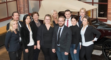 Customer Services personnel at Lidingö in Sweden.